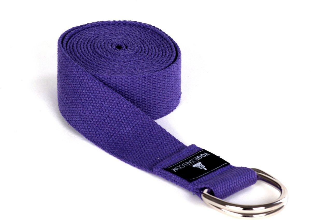 Yoga riem yogibelt - 260M violet Yoga riem YOGISTAR kopen
