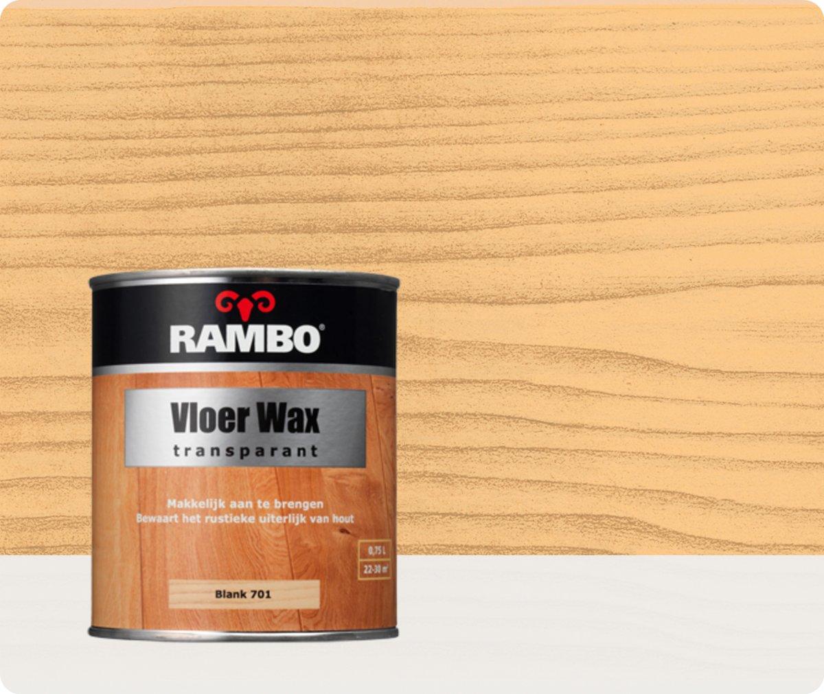 Rambo Vloer- en Parket Wax 0,75 liter - Blank kopen