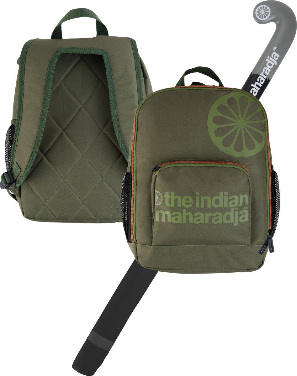 The Indian Maharadja Kids Backpack-army- legergroen - Hockeystickrugzak Kids kopen
