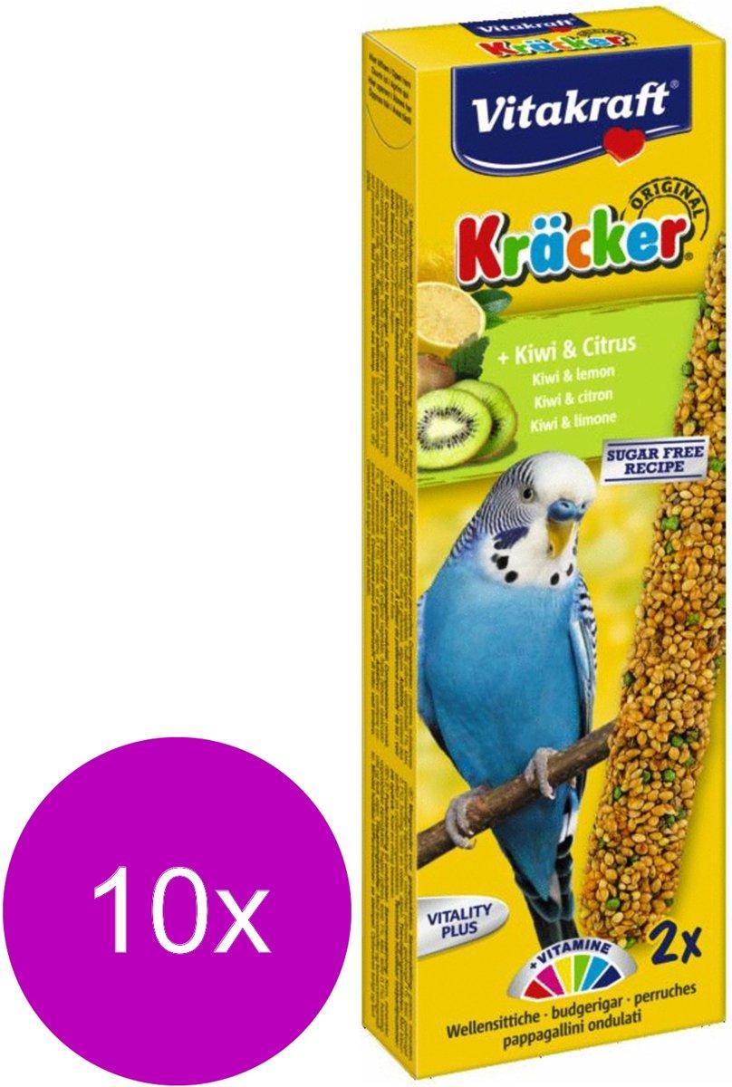Vitakraft Parkiet Kracker 2 stuks - Vogelsnack - 10 x Kiwi kopen