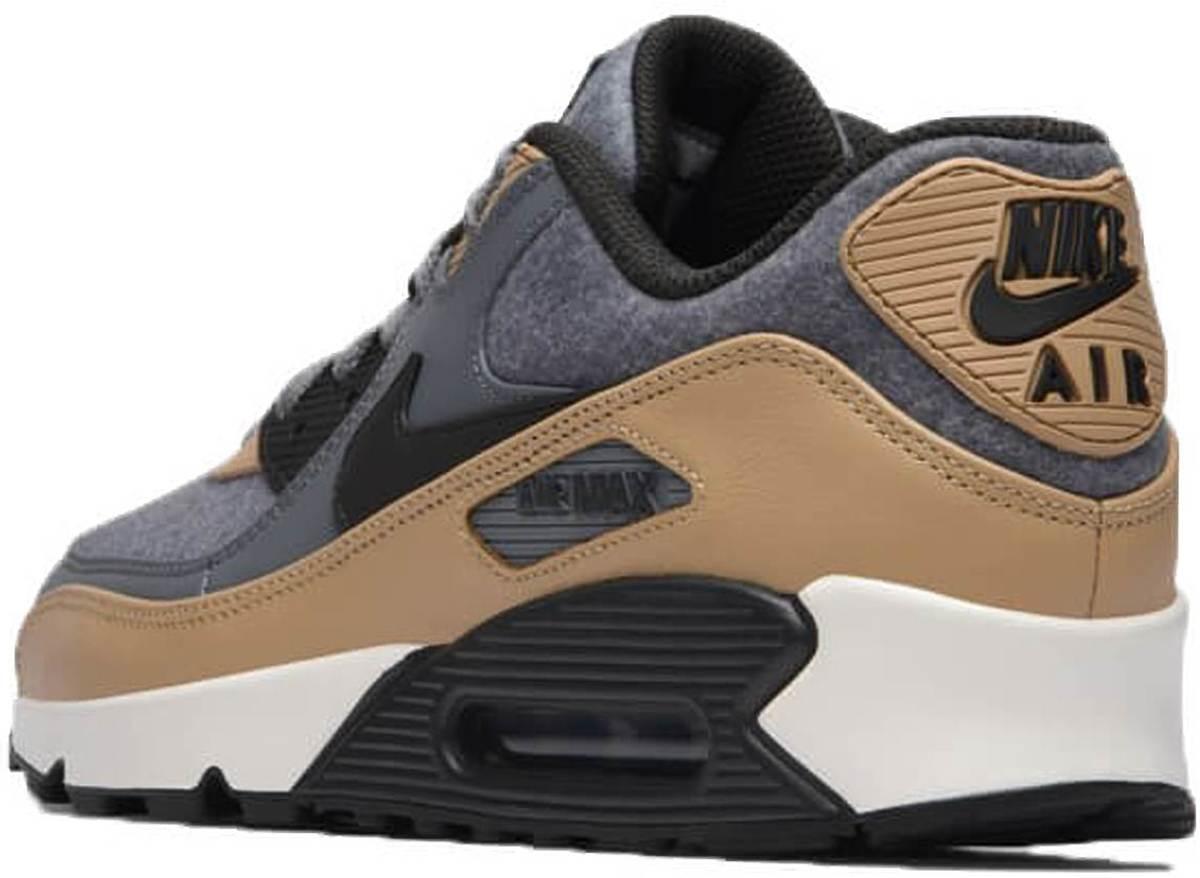 Nike Air max 90 Premium 700155 010 Grijs Bruin maat 45