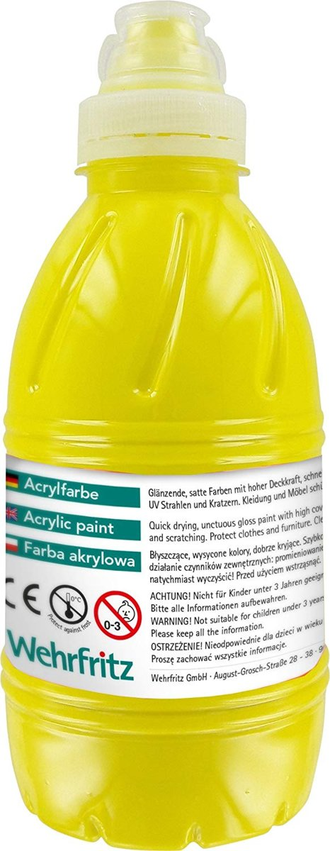 Haba Education - Acrylfarbe, yellow