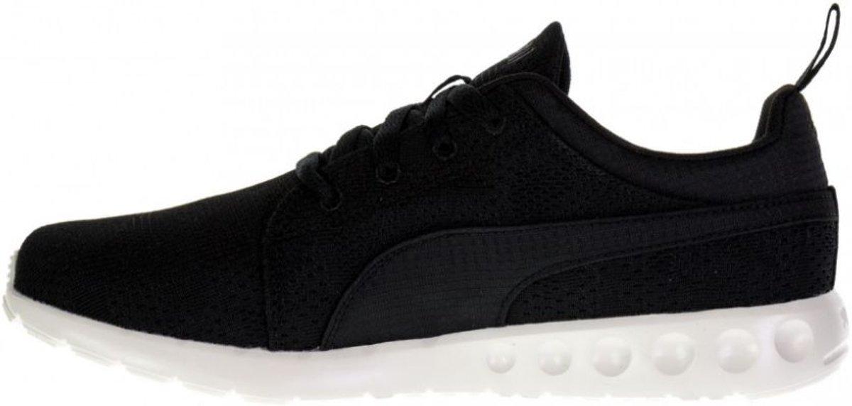Puma Carson Runner Camo Mesh zwart sneakers Maat 39
