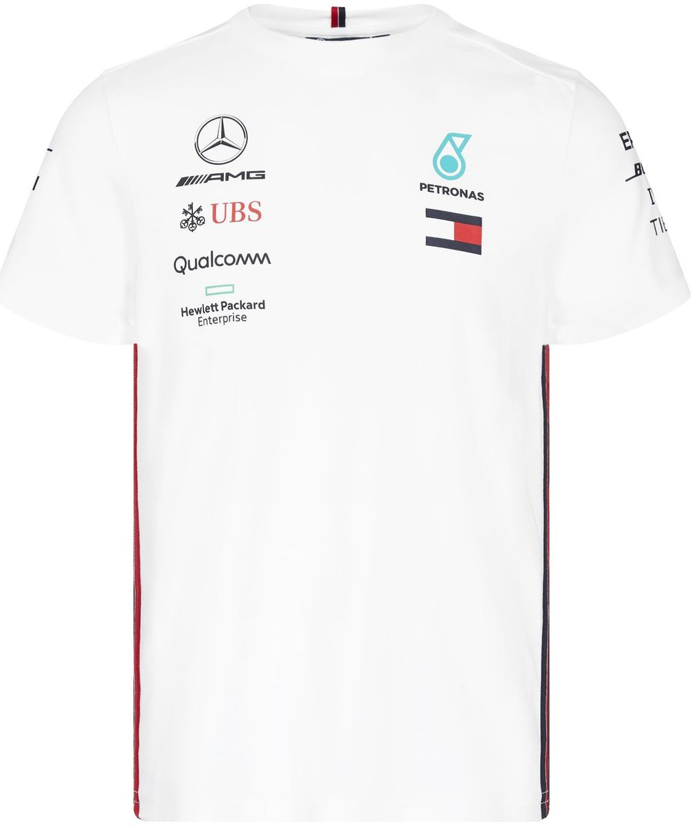 Mercedes AMG Mercedes Team Driver Tee - Wit - S