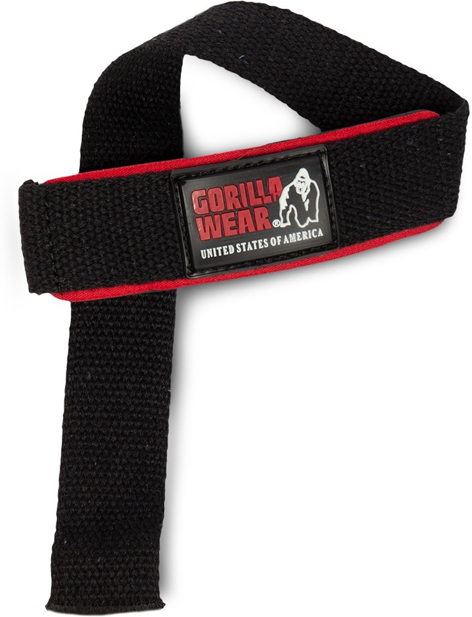Gorilla Wear Padded Lifting Straps kopen