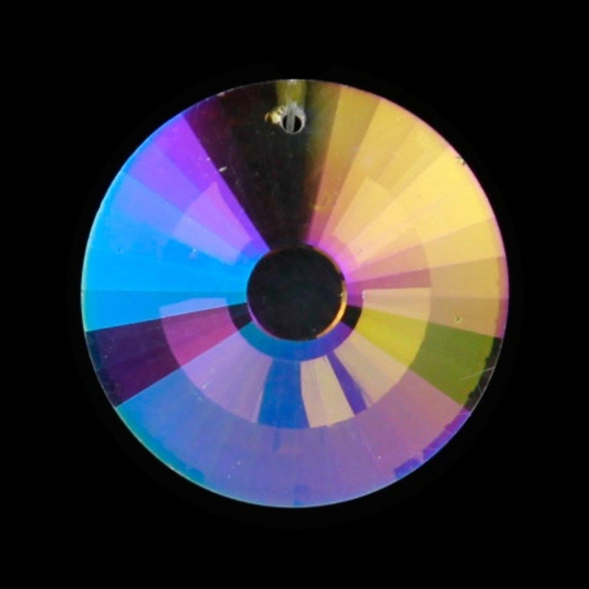 Regenboogkristal cirkel parelmoer AAA kwaliteit kopen