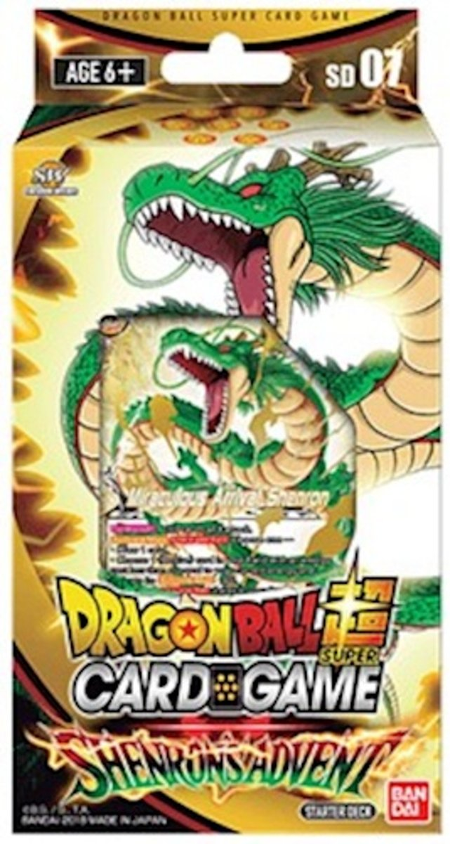 Dragon Ball Scg Shenron's Advent Startersdeck Sd07 (en)