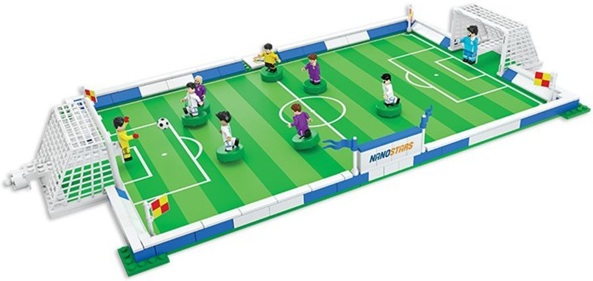 Voetbalset stadion real madrid NanoStars