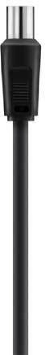 CABLE.ANTENNA.COAX.M/M.5M.75dB.BLACK.NICKEL-PLATED kopen