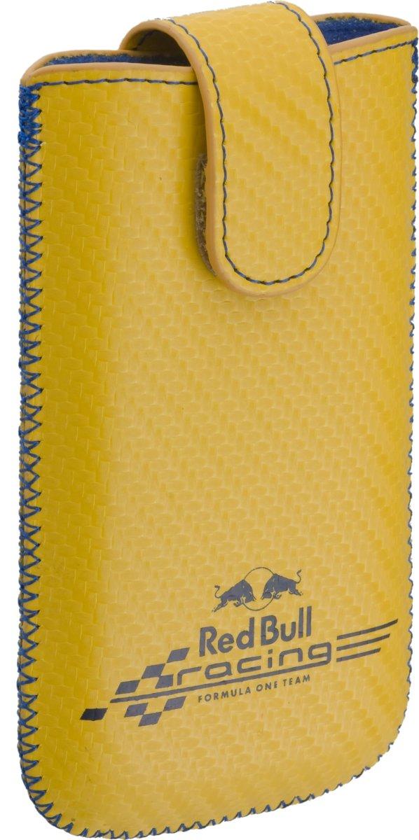 Red Bull Racing hoesje geel Apple iPhone 4 en soortgelijke telefoons