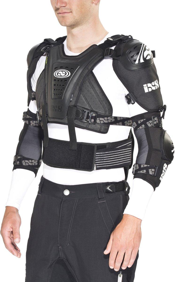 IXS Cleaver Jacket protectoren zwart Maat XS-S kopen