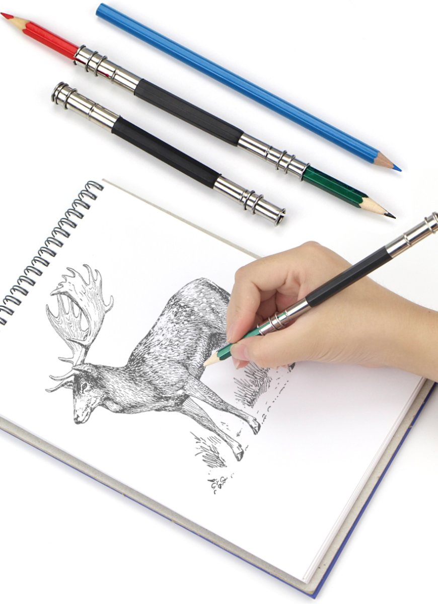 Hiden | Potloodhouder - Tekenen - Drawing - Hobby & Creativiteit | 1 stuk