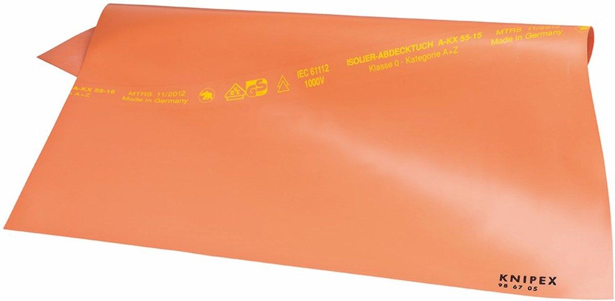 Afdekdoeken uit rubber        500x500x1 mm