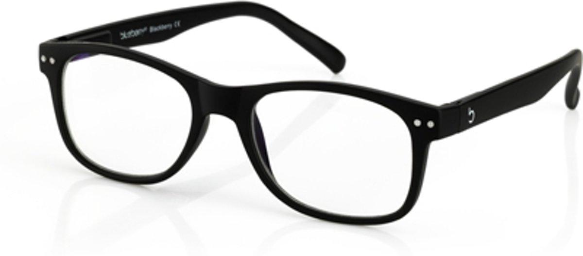 Foto van Blueberry Glasses Leesbril Vintage zwart +2.0