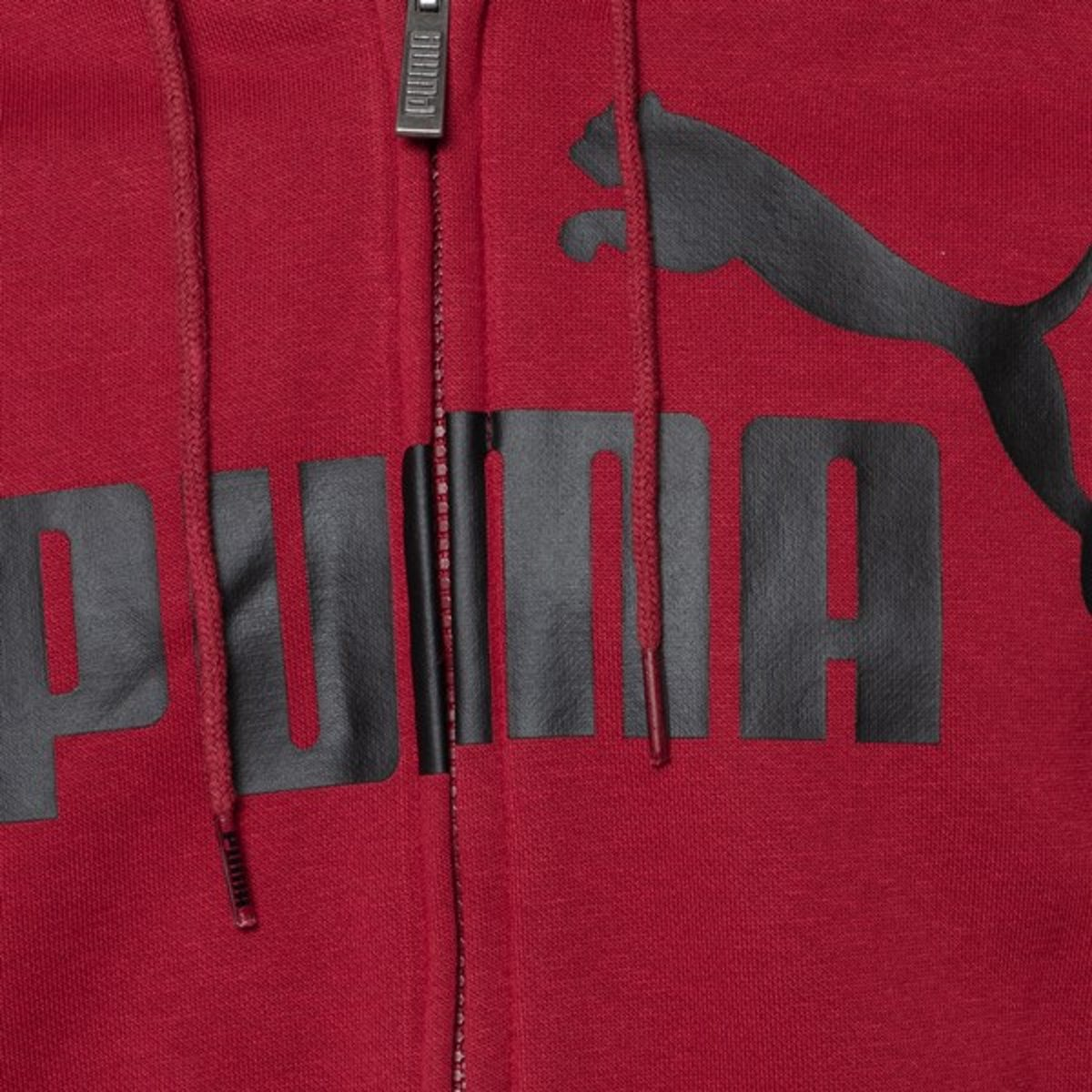 Puma Essential No1 heren sweatvest Rood Maat M