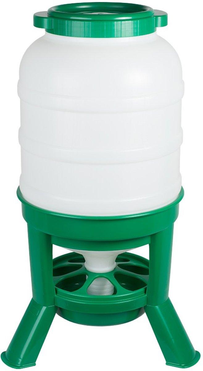 Hopper Feeder 40ltr. plastic groen kopen