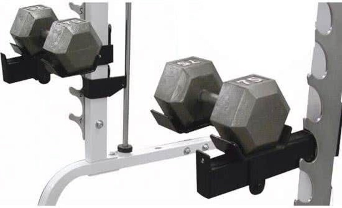Body-Solid Dumbbell Lift-Offs kopen