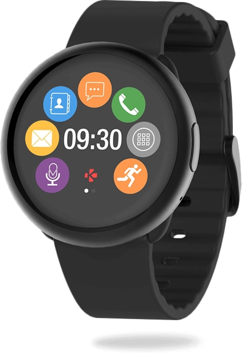 MyKronoz ZeRound2 smartwatch - zwart kopen
