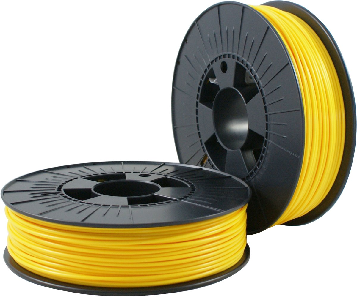 ABS 2,85mm  yellow ca. RAL 1023 0,75kg - 3D Filament Supplies