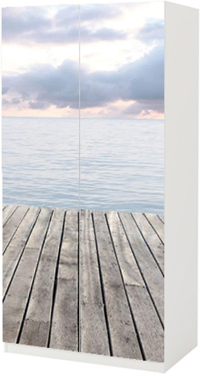 Meubelsticker Steiger Voor Ikea Pax 236 Cm