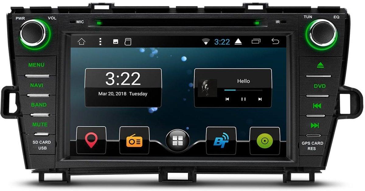 TOYOTA Prius, 8 Android 7.1 Nougat Quad-Core 16GB ROM HD Navigatie kopen
