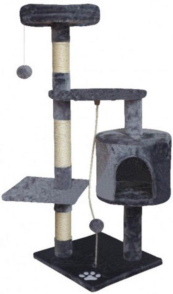 Topmast Krabpaal Montreal grijs 40 * 40 * 112 cm