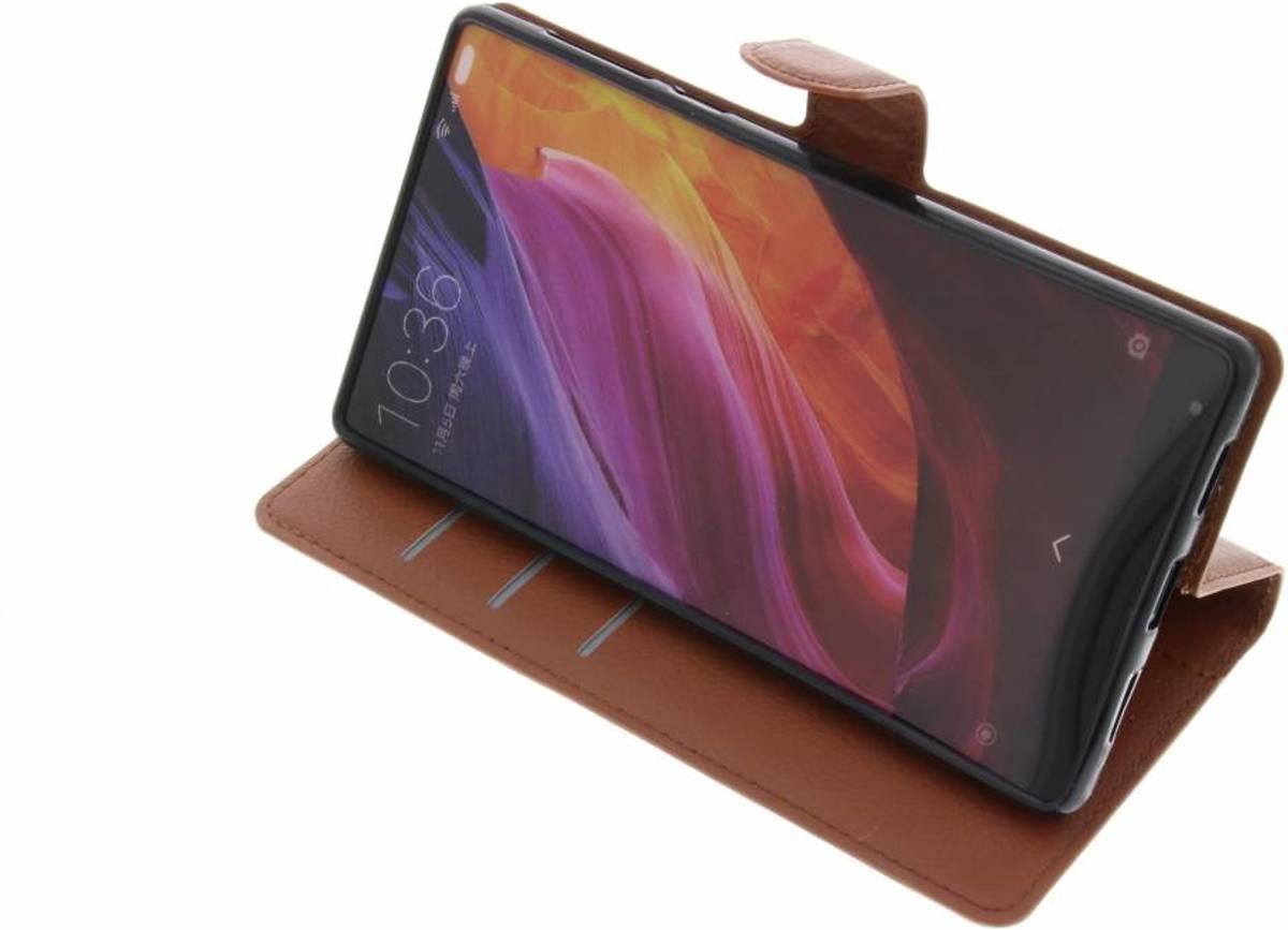 Brown Type De Livre D'affaires Tpu Cas Pour Le Mélange Xiaomi Mi JuZHom