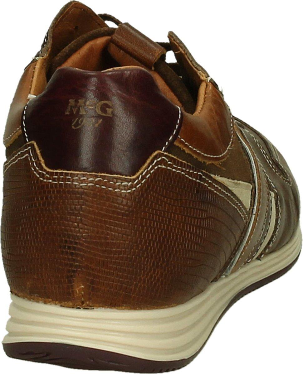 e84112fc02a bol.com   McGregor - Jairison - Casual schoen veter - Heren - Maat 48 -  Cognac - Dark Brown