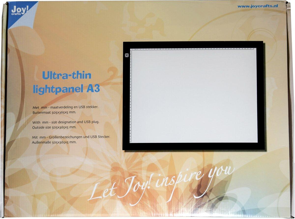Lichtpaneel/lichtbak ultra thin A3 Joycrafts 6200/0301 kopen