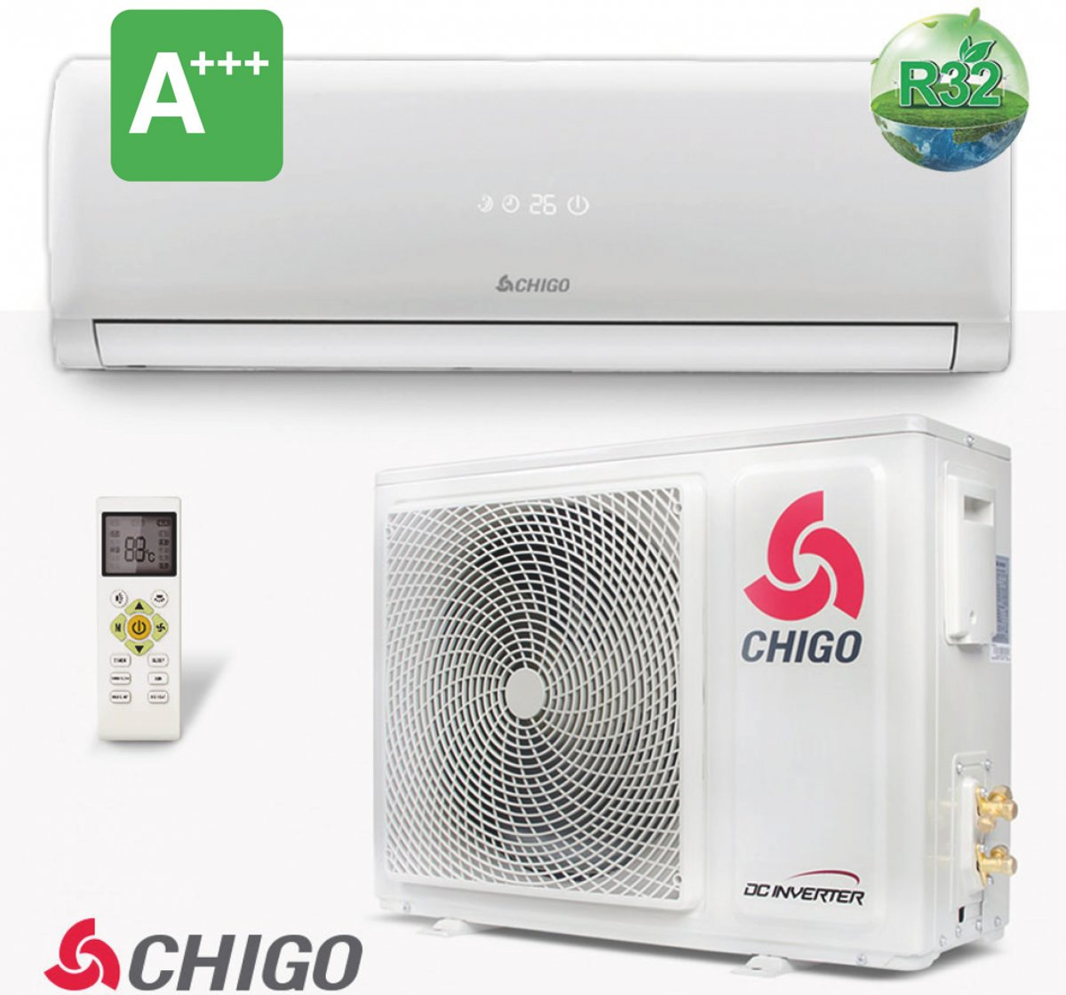 Chigo CS-25V3G - Split Unit inverter Airco kopen