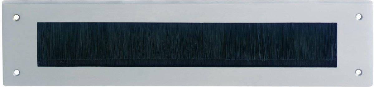 Intersteel - Tochtwering - rechthoek - chroom mat - 0017.401503