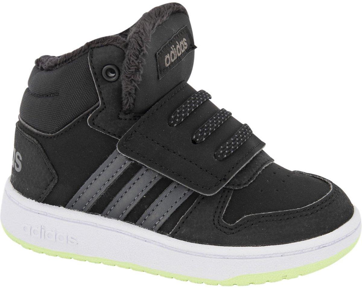adidas Kinderen Zwarte Hoops Mid 2.0 klittenband - Maat 27 kopen