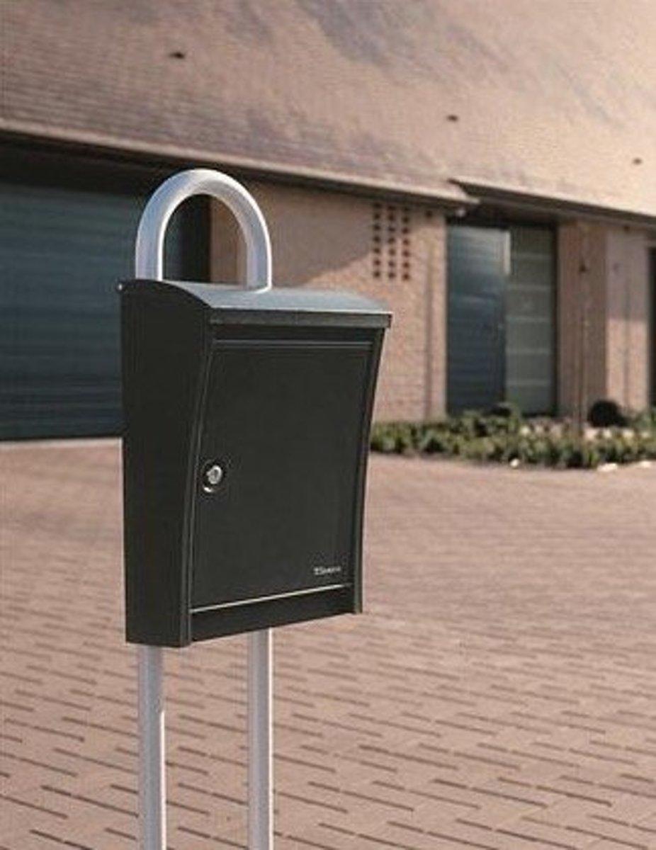 Penne Statief voor Design, Steely, Zilver RAL 9006