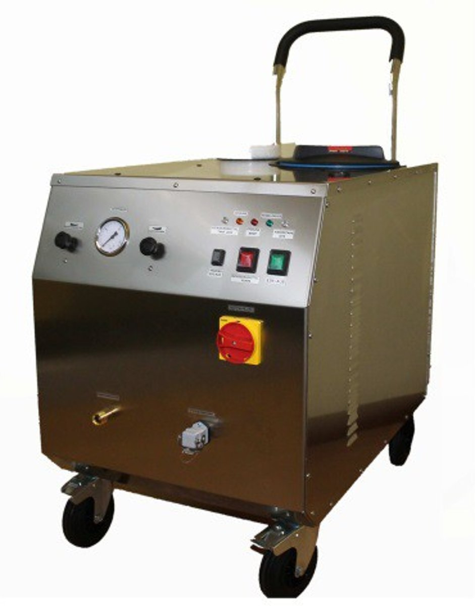 CIMEL Vapor.Net steam cleaner with injection pump - 9 or 18kW kopen