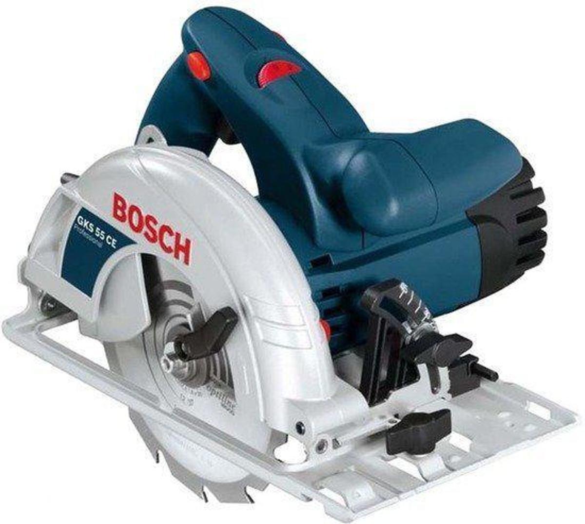 Bosch Cirkelzaag GKS55 160mm 1350Watt