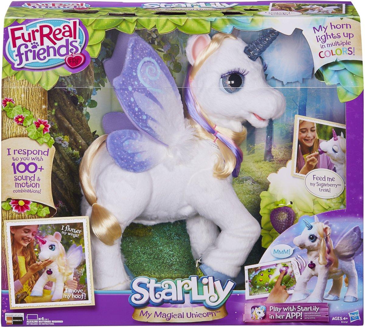 FurReal Friends Starlily Mijn Magische Eenhoorn - Interactieve knuffel