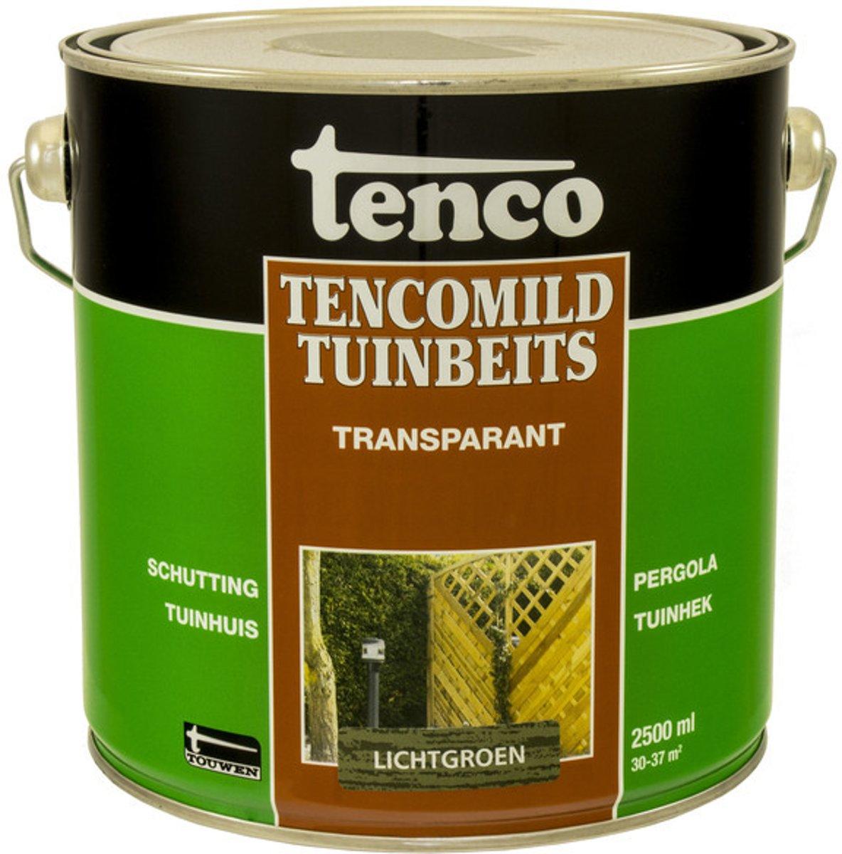 Tenco Tencomild Transparante Tuinbeits - 2,5 liter - Lichtgroen