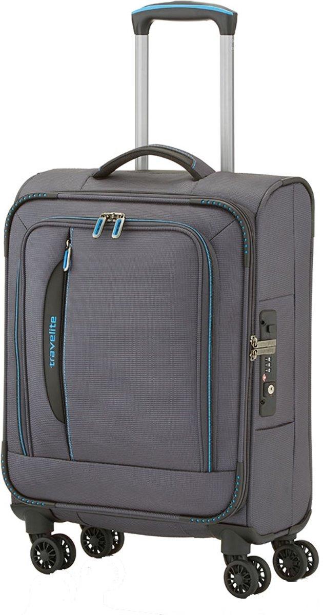 Travelite Crosslite koffer 55 cm antraciet kopen