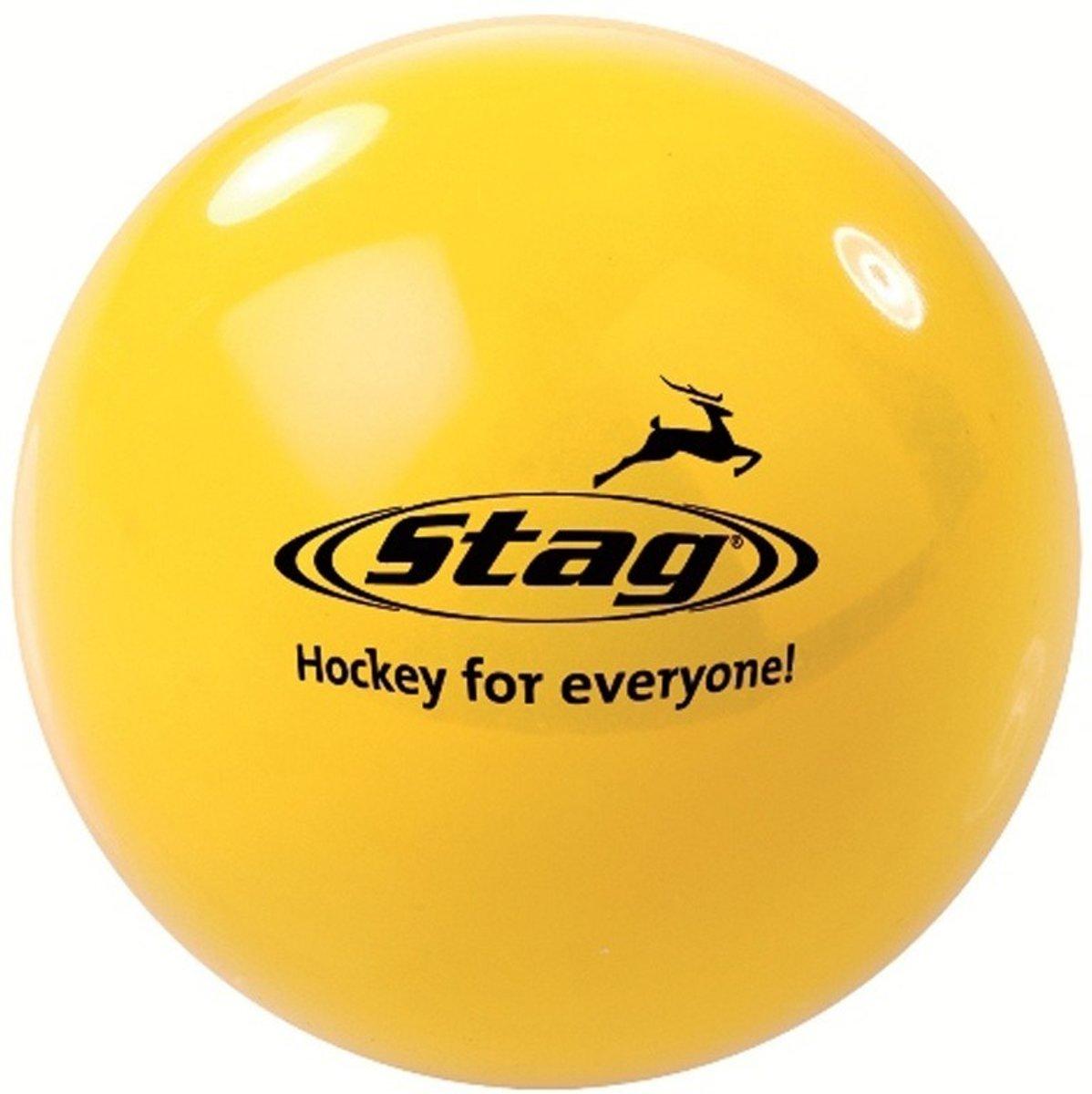 Hockeybal glad - reject - geel kopen