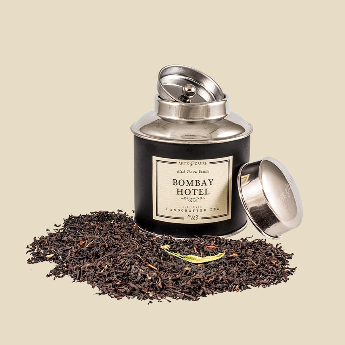 Arte & Zayne Zwarte thee blend: 03 Bombay Hotel