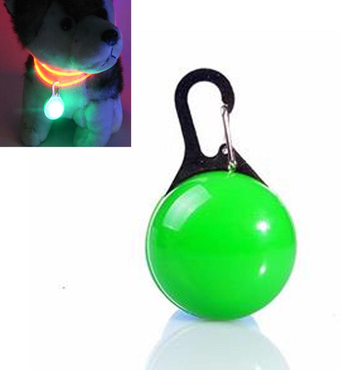 Led honden halsband verlichting - Led lamp hondenriem - licht voor aan de hondenriem - Groen kopen