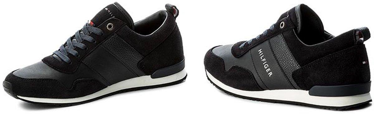 28b5c69c0ff bol.com | Tommy Hilfiger Heren Sneakers Maxwell 11c1 - Blauw - Maat 41