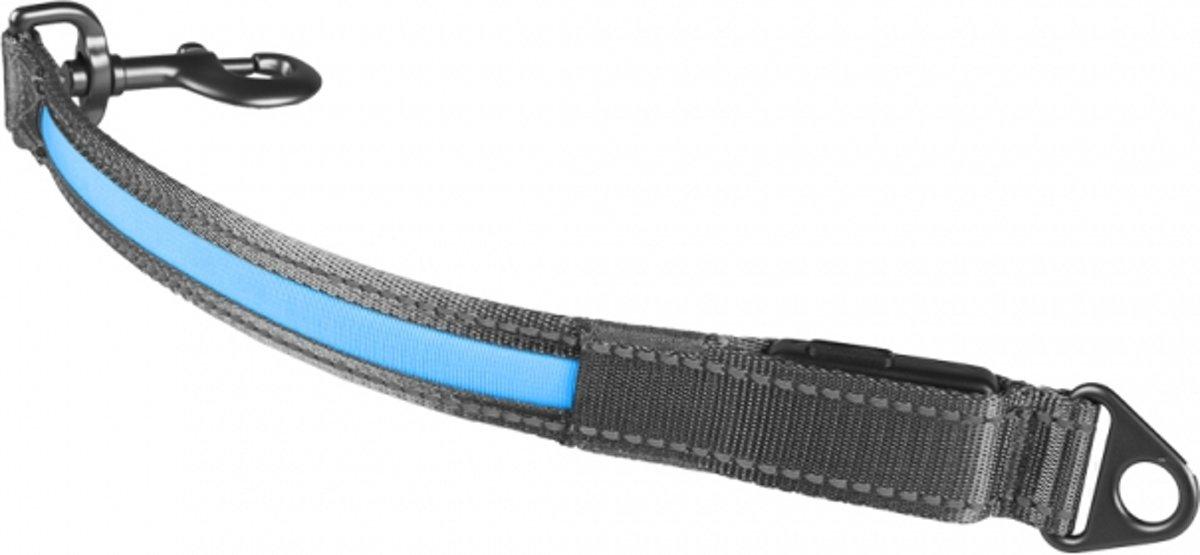 Metal koppelstuk flash light usb nylon Blauw 39cm/25mm kopen