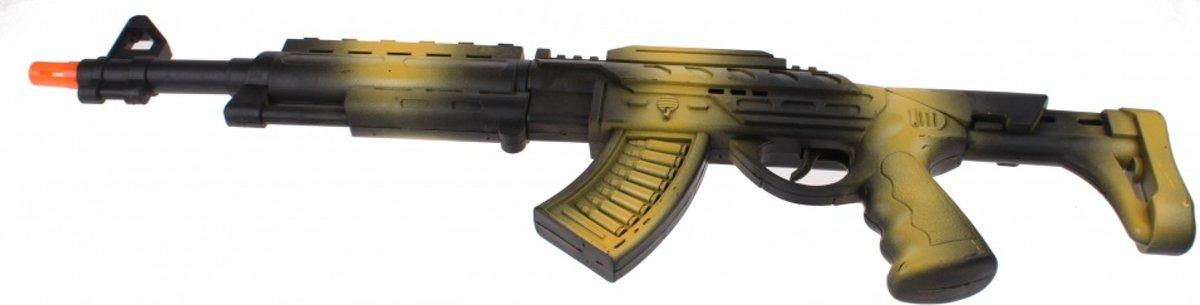 Toi-toys Geweer Ak-47 Met Geluid 60 Cm Groen kopen