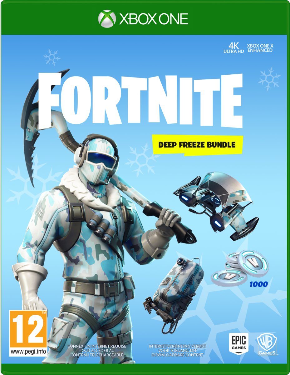 Fortnite: Deep Freeze Bundle -  Code in Box Xbox One