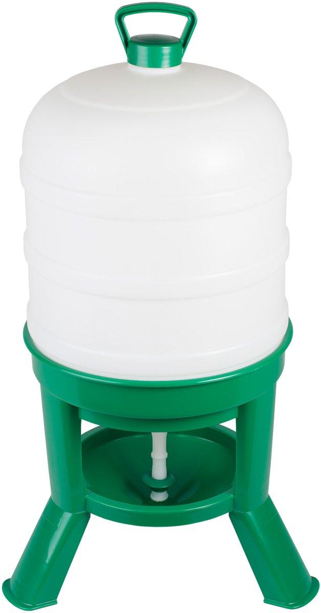 Drinker Siphon 40ltr. plastic groen