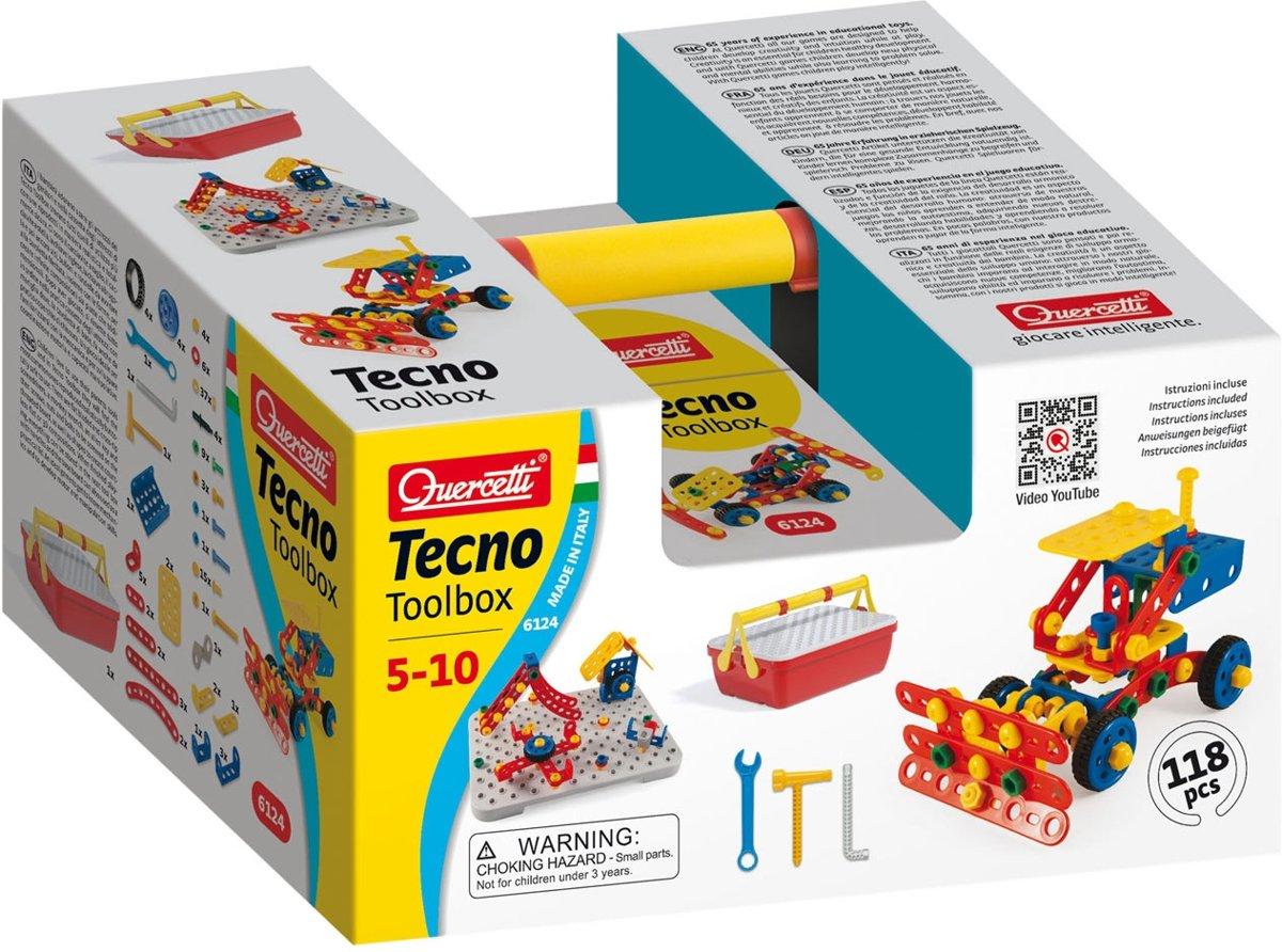 Quercetti Tecno Toolbox Constructieset