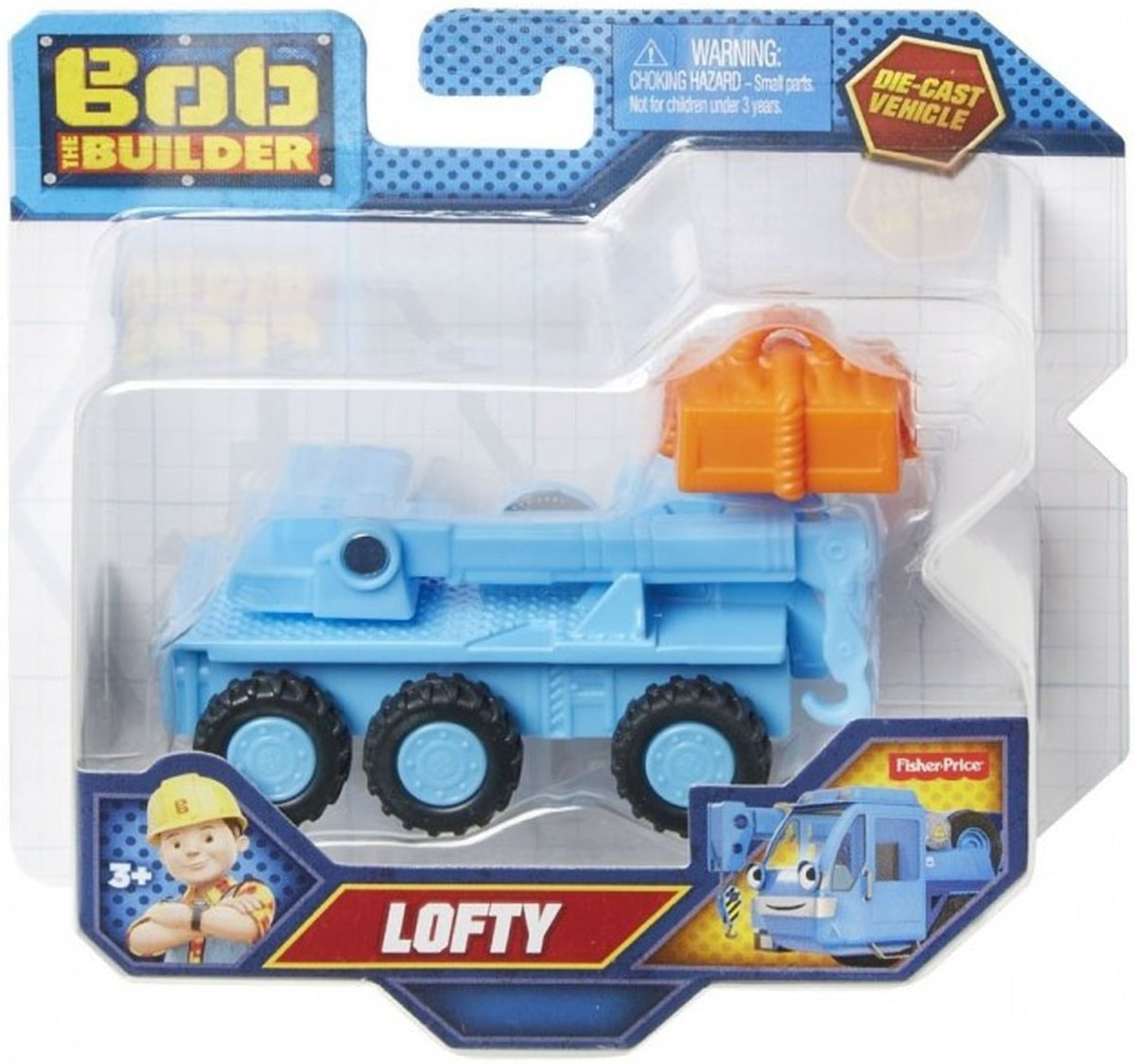Bob De Bouwer Die-Cast Vehicle Lofty