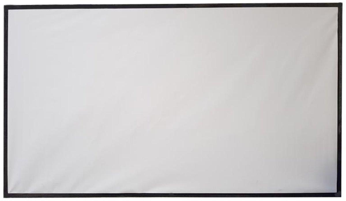 Projectiescherm (220 x 125 cm) kopen