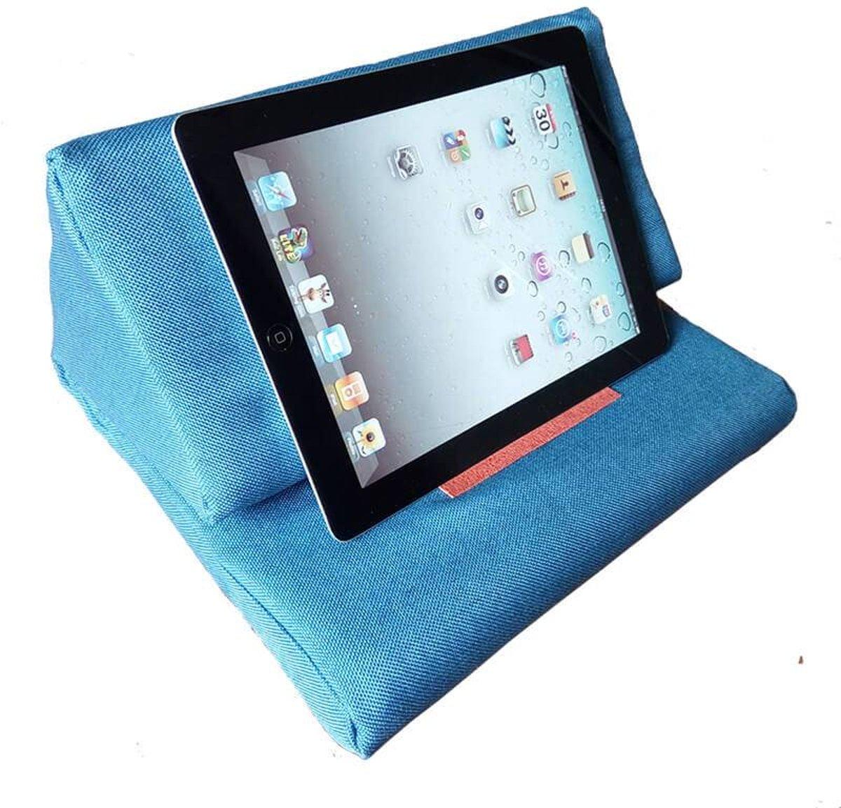 iPad kussen licht blauw kopen